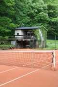 altes Tennishaus Floßgraben - idyllisch